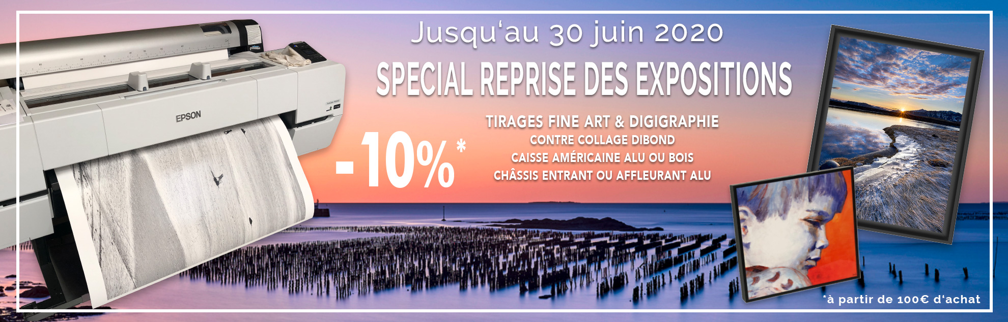 tirage photo Fine Art professionnel et impression photo d'art Loire Atlantique 44